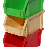 Stapelboxen aus NPC Nature Plastic Compounds. (Foto: Ökoplast)
