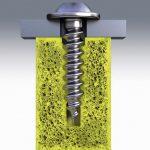 Ejot: Gewindeprägende Schraube für mikrozellular geschäumte Thermoplaste