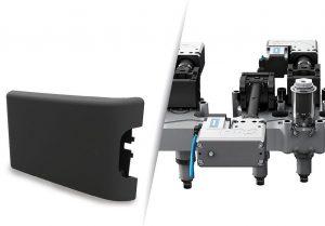 Im Mittelpunkt des diesjährigen Fakuma-Messeauftritts von HRSflow stehen aktuelle Anwendungen der Flexflow-Technologie der servoelektrisch angetriebenen Nadelverschlusslösungen, die gemeinsam mit Entwicklungspartnern zur Serienreife gebracht wurden. (Foto: HRSflow)