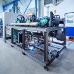 """Die Ecopro 2.0-Serie von L&R zeichnet sich durch hohe Energieeffizienz aus und wurde – im Sinne des """"Phase down"""" gemäß F-Gase-Verordnung – für den Betrieb mit alternativen HFO-Kältemitteln wie R1234yf, R1234ze und R513 A entwickelt. (Foto: L&R)"""