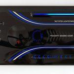 Tactotek IMSE-3D-Demo-Blenden, leitfähige Pasten werden rückseitig mit Noriphan XMR überdruckt. (Foto: Pröll)