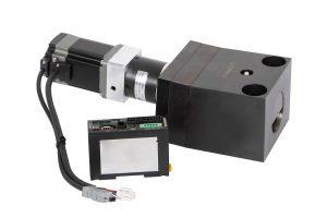 Der neue programmierbare elektromechanische Keilspanner für eine ölfreie Werkzeugspannung. (Foto: Roemheld)