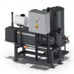 Vakuumsystem Plastex MM 0140 A von Busch zur Entgasung von Kunststoffschmelzen. (Foto: Busch)