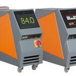 Kompakte Temperiergeräte der Baureihe teco c mit indirekter Kühlung mit Wasser bis 225 °C sind ein Highlight am GWK-Messestand. (Foto: GWK)