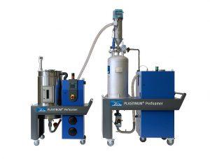 Die Fertigungszelle Plastinum Perfoamer ermöglicht es, das für Plastinum Foam Injection Moulding erforderliche Prozessequipment problemlos in vorhandene Spritzgießanlagen zu integrieren. (Foto: Linde)