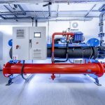 Die Engie-Turbocormaschine übernimmt die Grundlastversorgung und schafft eine zentrale Voraussetzung für die effiziente Kälteerzeugung. (Foto: L&R)