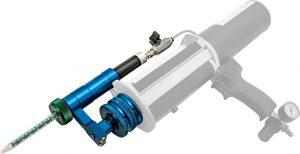 Manuell aber dynamisch: Der neue Kartuschenmischeraufsatz LC-DCM hat einen Universalanschluss für viele marktgängige Kartuschensysteme. (Foto: Tartler)