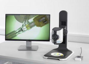 Digitalmikroskop EVO Cam II für die smarte digitale Inspektion und Dokumentation. (Foto: Vision Engineering)