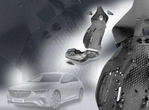 Sitzschale und Rückenlehne im neuen Opel Insignia GSi bestehen aus langglasfaserverstärktem Polymaid. (Foto: Ems-Chemie)