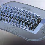 Mit ihrer komplexen Struktur stellen die LED-Linsen aus Silikon hohe Anforderungen an den Spritzgießprozess. (Foto: ACH-Solution)