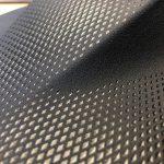 Reichle zeigt eine mit PUR überflutete Mittelkonsole mit Soft-Touch-Eigenschaft, die eine neuartige Kombination aus detailreicher Ledernarbung mit geometrischen Elementen darstellt, und sehr effizient ohne Ausschuss herzustellen ist. (Foto: Reichle)