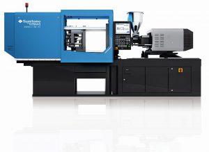 Neue vollelektrische Maschinenreihe IntElect S für Schnelllauf-Anwendungen. (Foto: Sumitomo (SHI) Demag)