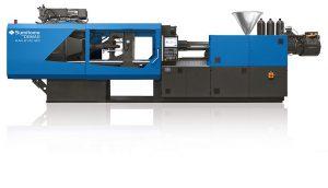 Die El-Exis SP ist die marktführende Schnelllaufmaschine zur Produktion von dünnwandigen Behältern und anderen Packmitteln aus Kunststoff. (Foto: Sumitomo (SHI) Demag)