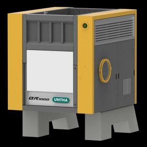 QR-Typen werden mit Antriebsleistungen von 22 bis 180 kW bei Schneidwerksbreiten von bis zu 2.100 mm angeboten. (Foto: Untha)