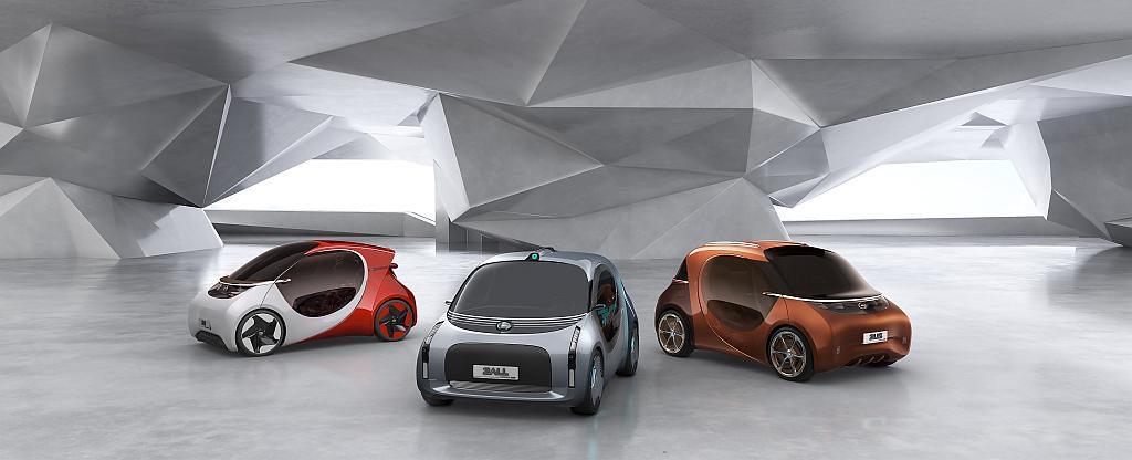 Gemeinsam von der BASF und dem GAC R&D Center entwickelte Konzeptfahrzeuge für die Mobilität der Zukunft. (Abb.: BASF)