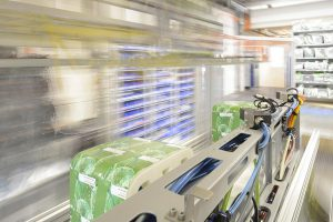 Schnelle Bewegungen werden durch die Verwendung von hochqualitativen Materialien sowie den Einsatz von Hochleistung-Servomotoren realisiert. (Foto: Beck Automation)