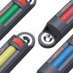 Über vier mögliche Farbcodierungen kennzeichnet der Statusanzeiger den aktuellen Werkzeugzustand. (Foto: Hasco)