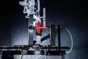 Das neue PBT-Compound bringt auch bei Glühdrahtprüfungen am Fertigbauteil gute Ergebnisse. (Foto: Lanxess)