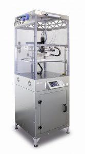 Der L280 ist der erste serienreife 3D-Drucker für LSR. (Foto: German RepRap)