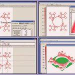 Prescale-Auswertesoftware: Mit Detail-und 3D-Ansichten erlaubt sie eine exakte Bewertung der druckbelasteten Flächen. (Abb.: Kager)