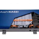 Neues Modell einer Lithium-Ionen-Batterie, in dem unter anderem Hochleistungskunststoffe und Separatoren von Asahi Kasai verbaut sind. (Foto: Asahi Kasai)