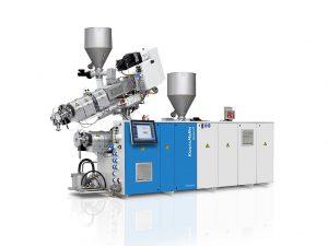 Eine Coextrusionsanlage mit Doppelschneckenextruder von KraussMaffei Berstorff nimmt Technonikol in Betrieb. (Foto: KraussMaffei Berstorff)
