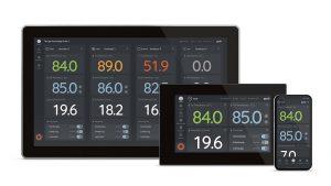 Das Interface für logotherm wurde mit Web-Technologie entwickelt, um eine einheitliche Darstellung auf allen Ausgabegeräten zu gewährleisten. (Foto: HMI Project GmbH)