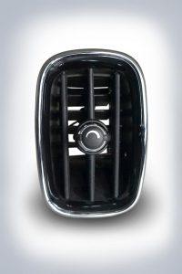 Für den Luftausströmer des BMW Mini Countryman mit Lamellen kommt das PA 6 Akromid B3 GF 30 1 zum Einsatz. (Foto: K.D. Feddersen)