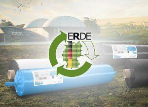 RKW ist Mitinitiator der Initiative ERDE Recycling. In einem neuen Film zeigt die Initiative, wie Umwelt, Landwirte und Lohnunternehmen von dem Rücknahmesystem profitieren. (Abb.: RKW)