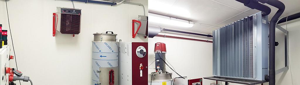 Einblicke in die Klimakammer im Wolkersdorfer Produktionswerk. (Fotos: Wittmann)