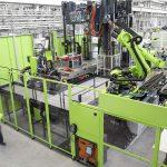 Mit der v-duo hat Engel gezielt für Faserverbundanwendungen eine eigene Maschinenbaureihe entwickelt. (Foto: Engel)