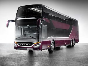 Flexibilität in der Produktion: Dank 3D-Druck stehen Ersatzteile, z.B. für den Innenraum von Bussen, kostengünstig und schnell zur Verfügung. (Foto: Daimler Buses)