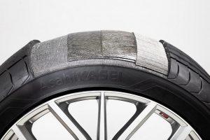 Mit dem lösungspolymerisierten Styrol-Butadien-Kautschuk (S-SBR) der fünften Generation und der Fasertechnologie Leona PA66 Filament stehen Materialien für den Reifen von morgen zur Verfügung. (Abb.: Asahi Kasai)