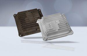 Kühlkörper gehören zu wichtigen Anwendungen für wärmeleitfähige Kunststoffe im Automobilsektor. (Foto: Barlog)