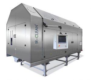 Das System IR-Clean dient zur Dekontamination von PET aus Post Consumer Ware ohne Vakuumtechnik. (Foto: Kreyenborg)