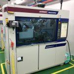 MicroPower-Maschinen mit Steuerung Unilog B8 bei Yonwoo in Incheon. (Foto: Wittmann Battenfeld)