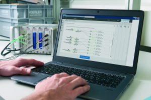 In Kombination mit der Software KiStudioLab ist mit KiXact die Berechnung sowie Auswertung der Messunsicherheit einfach und sicher. (Foto: Kistler)