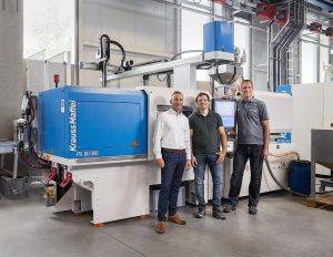 Gemietet statt gekauft: die neue vollelektrische Spritzgießmaschine PX 80-380. (Foto: KraussMaffei)