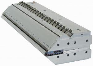 Foliendüse EDI Ultraflex mit Staubalken. (Foto: Nordson)