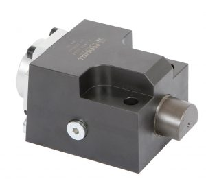 Der neue Keilspanner zum Spannen von Werkzeugen an Pressen und Spritzgießmaschinen benötigt keine dauerhafte hydraulische Versorgung. (Foto: Roemheld)