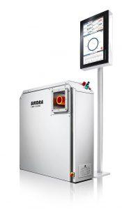 X-Ray 6000 Pro mit Standardanzeige von acht Messwerten am Ecocontrol 6000 Prozessorsystem. (Foto: Sikora)