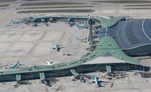Das Kunststoffadditivpaket der BASF trägt dazu bei, das Dach vom Terminal 2 des Incheon Flughafens vor Verschleiß und extremer Hitze- und Lichteinwirkung zu schützen. (Foto: BASF)