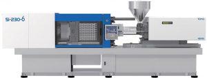 Auf einer vollelektrischen Toyo-Spritzgießmaschine mit 2.300 kN Schließkraft wird die Brotzeitbox Mexbox produziert. (Foto: Deckerform)