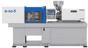 Die Produktion des variotherm temperierten Gekkos erfolgt auf der kleinsten Toyo-Maschine mit 500 kN Schließkraft. (Foto: Deckerform)