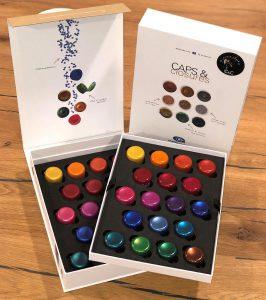 Begehrlichkeiten sollen die neuen Farbkreationen Plastic Jewels wcken. (Foto: Gabriel-Chemie)