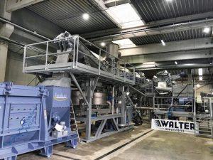 Die neue Waschanlage für WKR Walter. (Foto: Herbold)