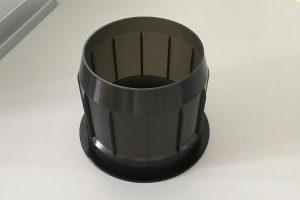 Das neue Regranulat eignet sich auch für den spritzgegossenen Wickelrollenaufnehmer. (Foto: BIZ-UP)