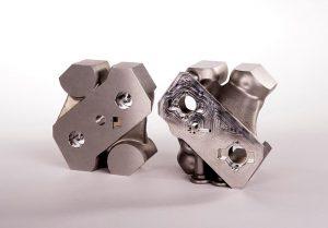 Die Möglichkeiten des 3D-Drucks in Metall erlauben es, neue Wege zu gehen und eine Form vollkommen neu zu denken. (Foto: Toolcraft)