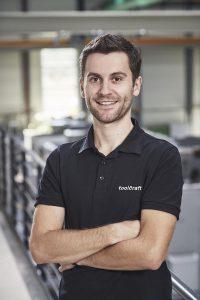 Ralf Domider, Konstruktion und Simulation Metall-Laserschmelzen bei Toolcraft. (Foto: Toolcraft)