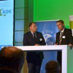 Dr. Ralf Holschumacher (l.), Präsident des wdk, und Dr. Sven Vogt (r.), Präsident des ADK. (Foto: K-PROFI)